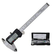 Big sale 6-Inch 150mm LCD Display  Stainless Steel Electronic Digital Vernier Caliper Micrometer Depth Measuring Tool With Battery