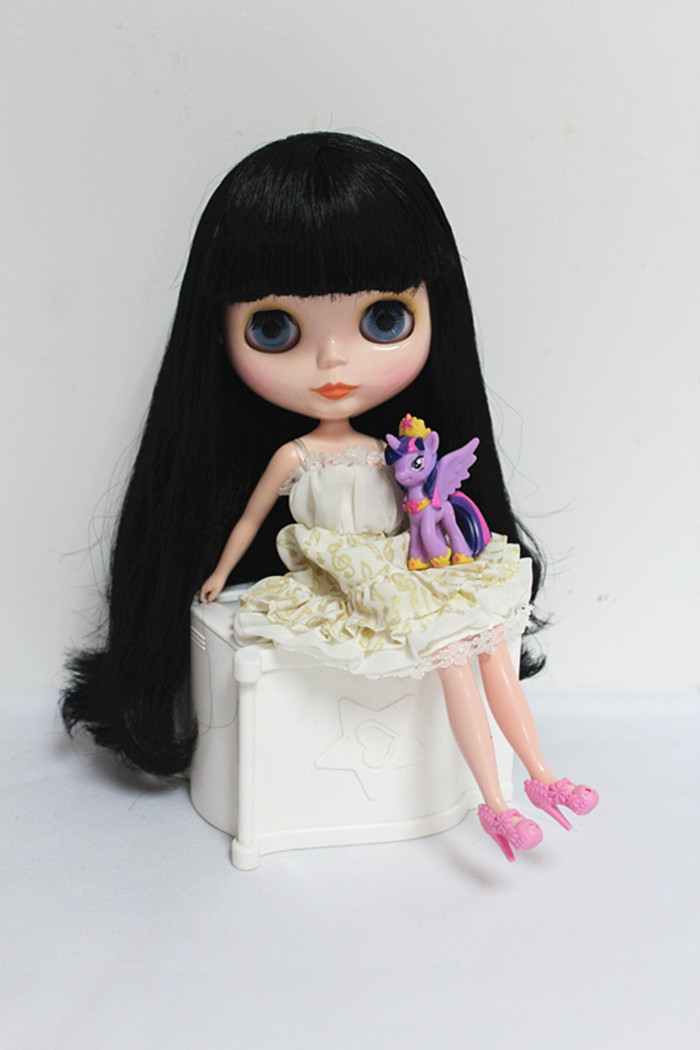Toys & Hobbies 25 Doll Limited Gift Special Price Cheap Offer Toy Online Discount Free Shipping Top Discount 4 Colors Big Eyes Diy Nude Blyth Doll Item No
