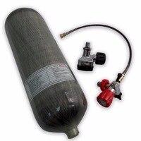 AC1090 цилиндр высокого давления 9L CE бутылка Воздушный пистолет paintbal 300bar 4500psi 300bar pcp винтовка компресса противопожарная защита 2019