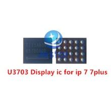 50ピース/ロットU3703用iphone 7 7プラスディスプレイ&タッチの電源icチップ