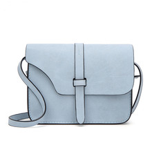 Women's Vintage Style Colorful Leather Bag without Pattern
