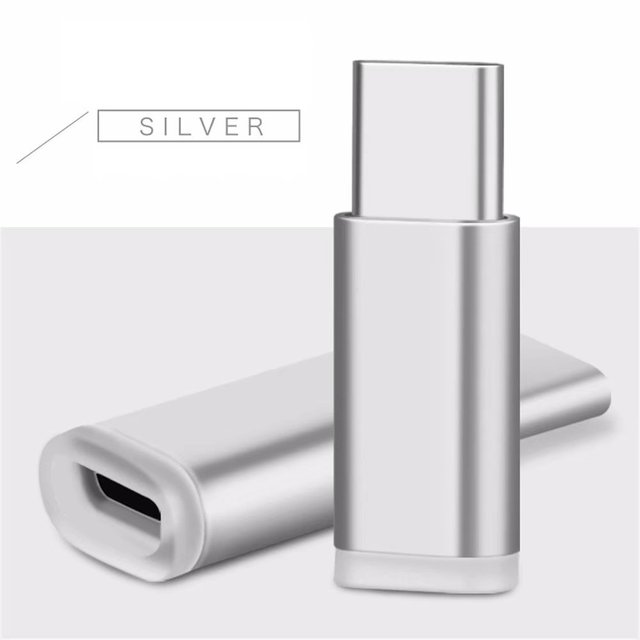 USB 3.1 Type C to Micro USB Charge Adapter for ZTE Blade V7 Max, Imperial Max, Nubia N1, Z11/Z11 Max/Z11 Mini Charging Converter