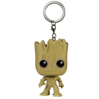 Guardians of The Galaxy Mini Figures Keychains: Groot, Rocket Raccoon and Star Lord 5