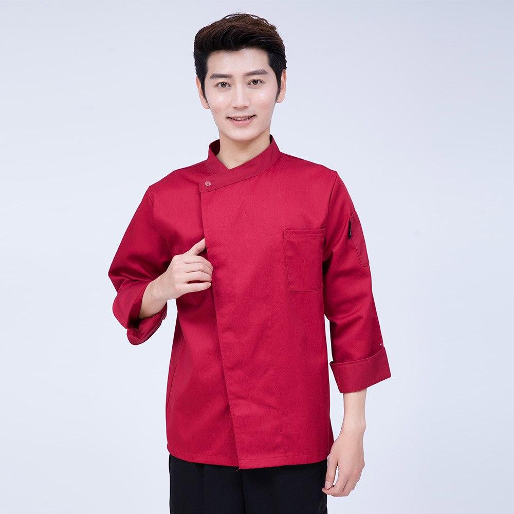 Nouveau haute qualité Chef vestes vêtements à manches longues hôtel Restaurant cuisine hommes femmes Services alimentaires cuisine vêtements uniforme