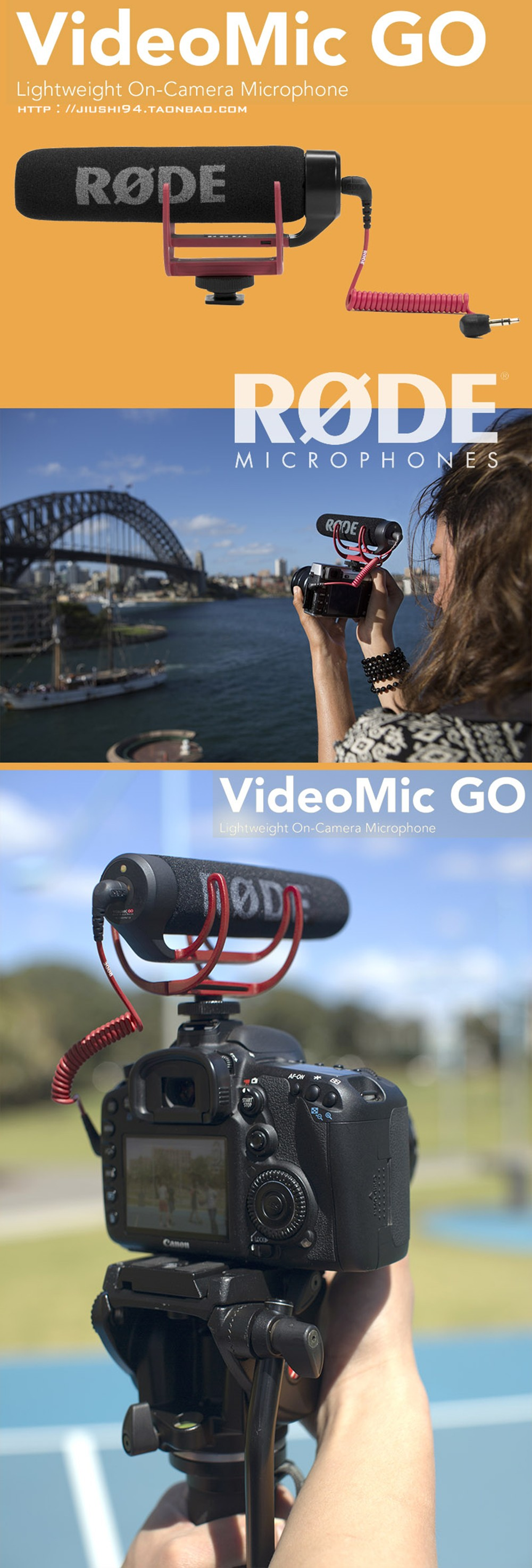 Rode VideoMic Go Microphone Price in Bangladesh