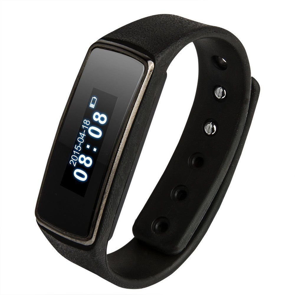 imágenes para V5s Bluetooth 4.0 Pulsera Inteligente Reloj Pulsera Sleep Actividad Rastreador Podómetro Podómetro Deportes Salud Para Android y IOS