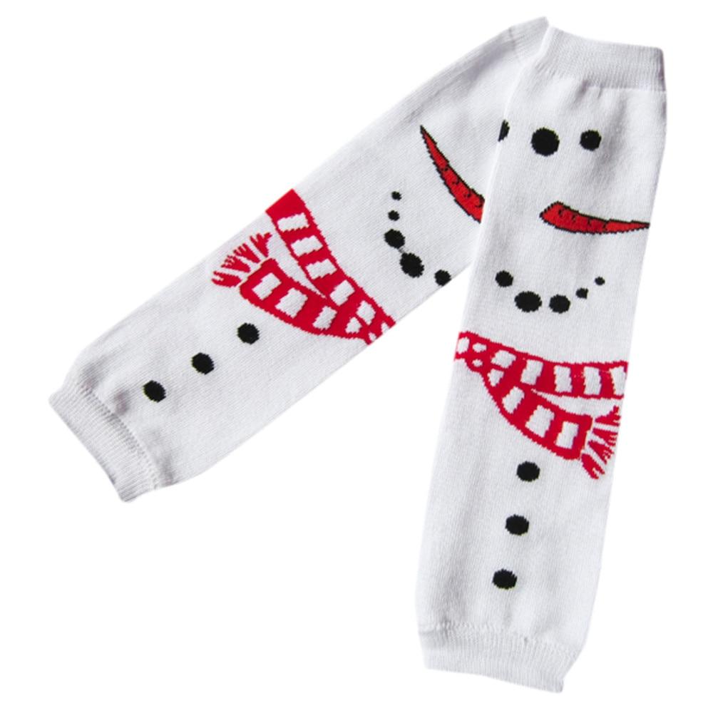 2017 Weihnachten Kinder Cartoon Beinlinge Socken Baby Knie Pad Weihnachten Socksmeias Infantil Para Meninas # Jd Jungen Kleidung