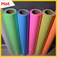 Five Colors Glow In The Dark IRON ON Heat Transfer Vinyl Cloth Garment 20 X23 6