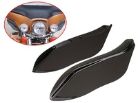 Motorcycle Side Wings Windshield Air Deflectors For Harley Street Glide Touring FLHR FLHT