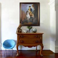 Classic oil painting artworks reproduction museum quality Equestrian Portrait of George Washington handpainted on canvas MP007