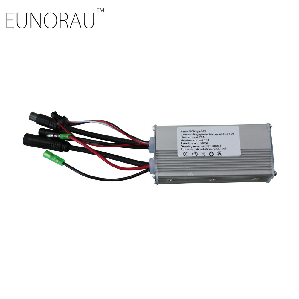 36V20A sin-wave electric bike controller for ENA 36V500W bicycle front/rear hub wheel motor kit Free shipping free shipping 36v18a sin wave controller for ena 36v350w torque sensor electric bike hub motor kits