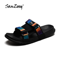 Men's Slides Soft Light Men Slippers Home Outdoor Beach Summer EVA Rubble Slide Slipper 2019 Fashion Indoor Shoes Big Size 47 48 3
