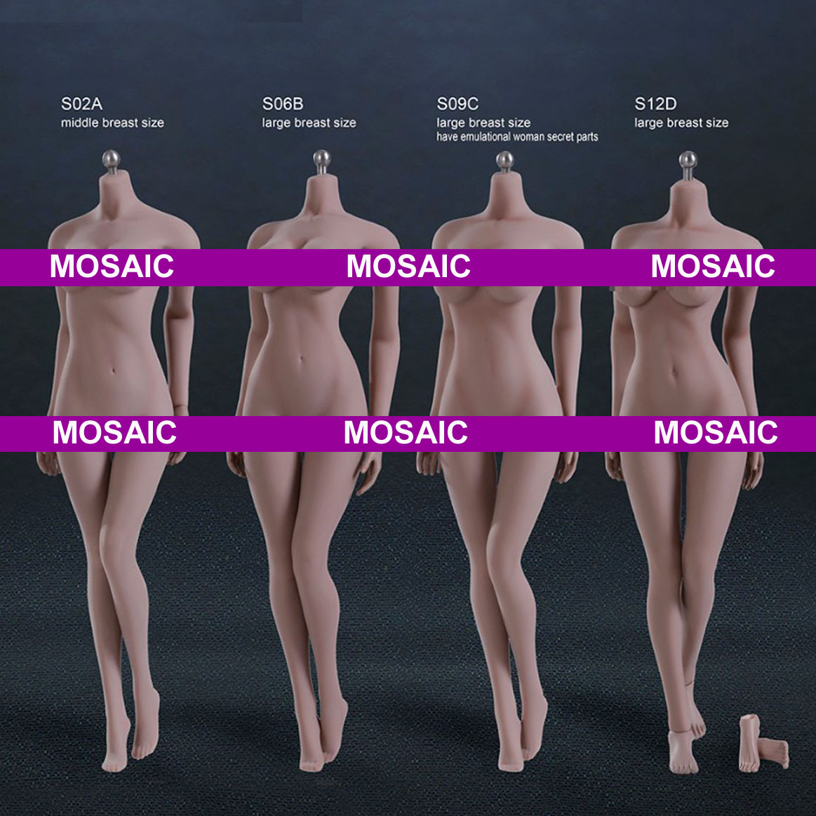 Mnotht PH S02A S06B S09C S12D / Super-Flexible Seamless Body With Stainless Steel Skeleton In Suntan Middle Breast Size doll доска для объявлений dz 1 2 j8b [6 ] jndx 8 s b