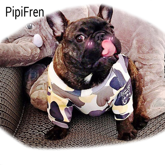 pipifren summer spring watermelon dogs clothes t shirts in french
