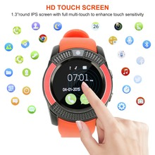 Smart Watch Bluetooth ZONKO Android IOS Phone with Touch Screen Passometer SIM Card Message Reminder цена