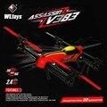 2015 new arrival Hot Vender 100% V383 profissão rc grande escala WLtoys 6CH 3D RC Quadcopter drone 500 Elétrica vsT1020-2