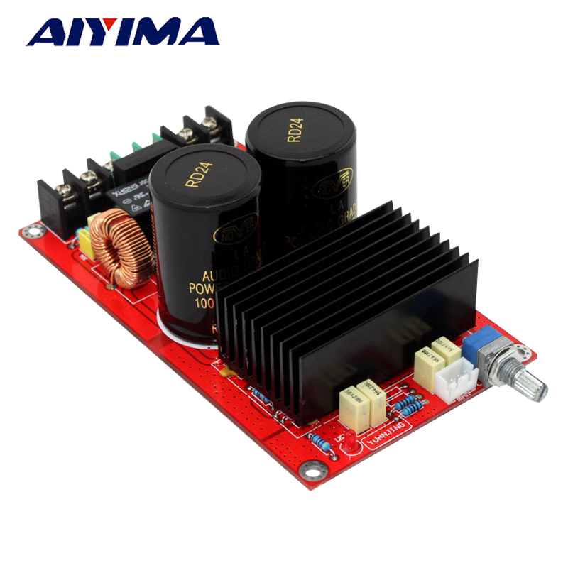 Aiyima TDA8950 Digital Audio Amplifier Board High Power 2*120W 2 Channels amplifiers with speaker protection aiyima amplifier power rectifier filter board with imported original origin bc with philips capacitor