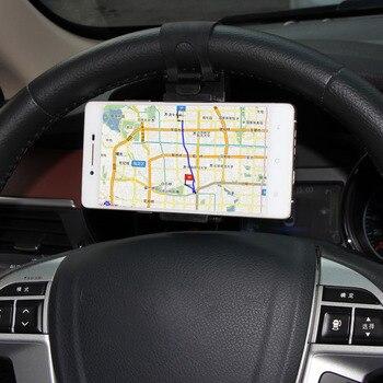Volante dellautomobile del telefono mobile clip Per Nissan Qashqai Altima Armada Juke Foglia Maxima Murano Pathfinder Sentra NV200 NV2500