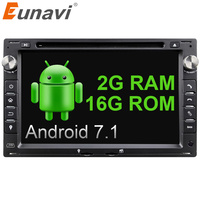 Android 5 1 Quad Core 2 Din 7 Inch Car DVD Player For VW Volkswagen PASSAT