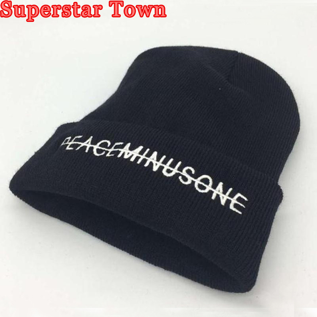 Kpop GD Bordado gorros sombrero Bigbang gdragon mismo párrafo punto gorras  unisex negro hip hop sombrero 641ce598731
