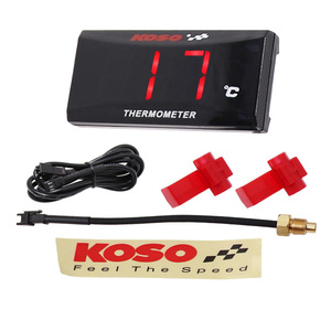 Image 2 - Koso Motorcycle Temperature Gauge Universal Digital Water Temperature Gauge for Yamaha MT 07 NMAX BWM Kawasaki Moto Thermometer