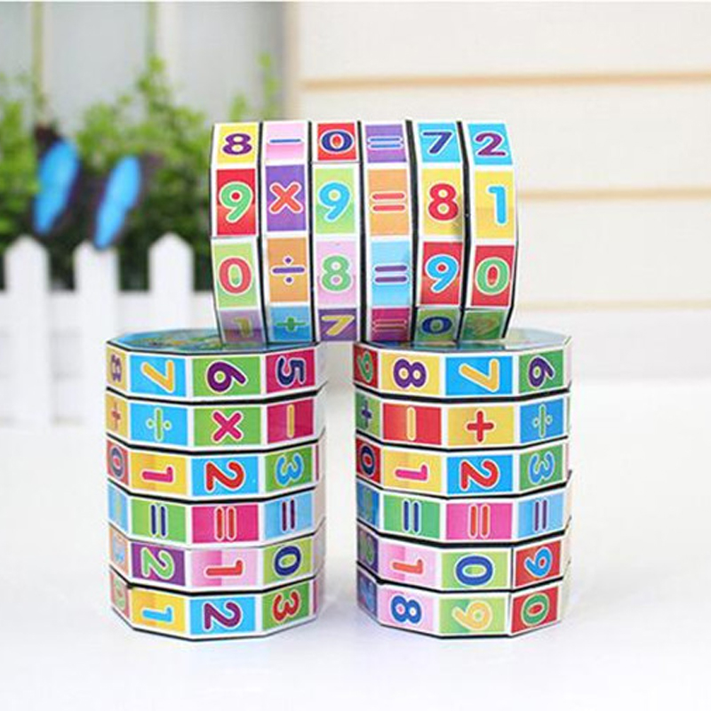 Montessori Toys Education Learning Math Toys Teaching Resources For Kids Number Training Aids Fun Calculate Game