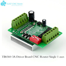 High Quality TB6560 3A Driver Board CNC Router Single 1 axes Controller Stepper Motor Hot Top Sale single pulse 4a tb6600 stepper motor driver controller 9 42v micro step single axes hybrid stepper motor for cnc