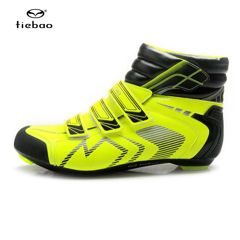 Tiebao Professional Road Bike Shoes Self Locking Cycling Shoes High Ankle Boots Sneakers Sapatilha Ciclismo Road