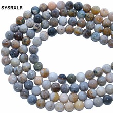 Wholesale AAA+ Charm Natural Stone Beads Agat For Jewelry Making DIY Bracelet Necklace Material 4/6/8/10/ 12 MM Strand 15''