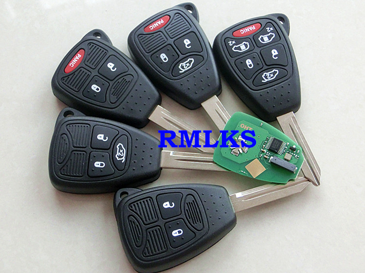 rmlks mhz mhz id chip car replacement remote key