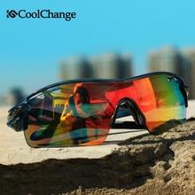 e5993959215a22 CoolChange Polarisé Vélo Lunettes de Vélo Sports de Plein Air Vélo lunettes  de Soleil Lunettes 5