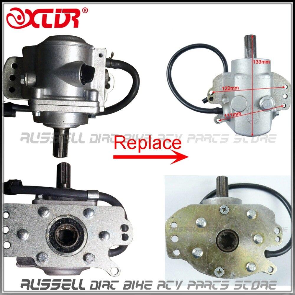 Atv rear axle transmission gearbox for shaft drive 50cc 110cc atv quads renvoi