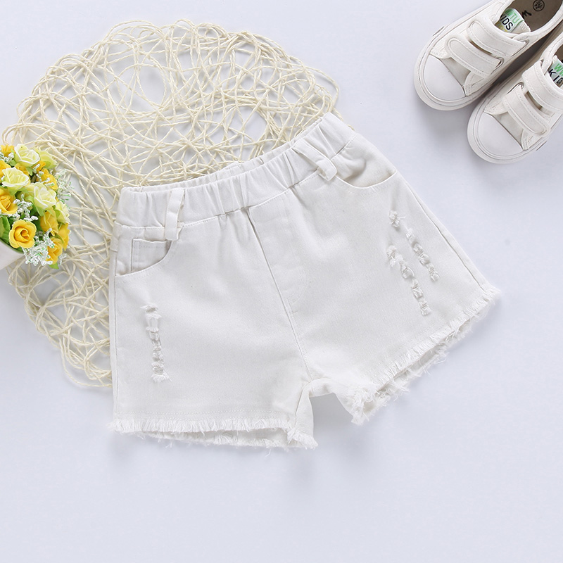 New Girls   Shorts   Summer Fashion Candy Denim   Shorts   Baby Kids Casual Jean Pants Children Clothes Outfit Vestidos 6 8 10 12 Years