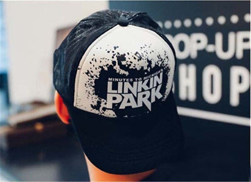 Summer Fashion Linkin Park Hat Leisure Hip Hop Caps Printing Baseball Cap  Adjustable Snapback Hats For Men Women e388b5c15a87
