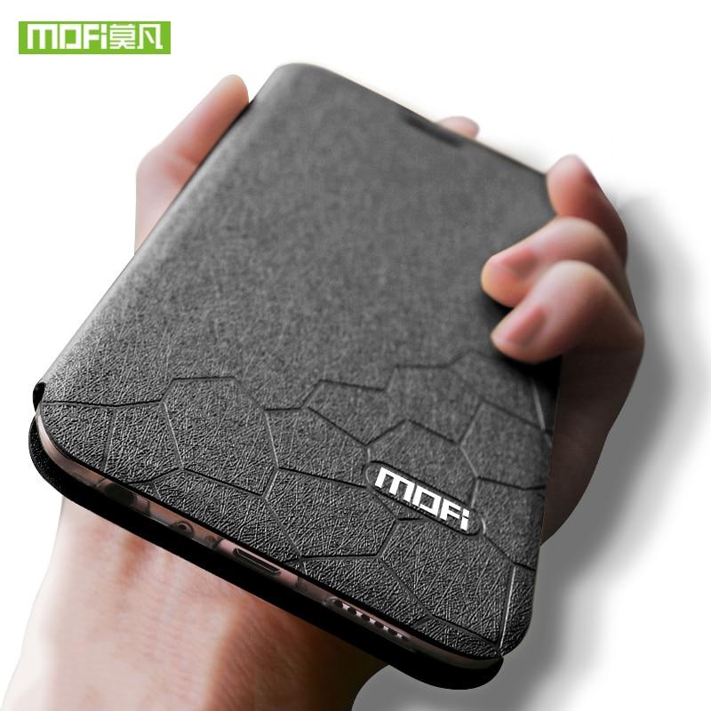 Per Xiao mi mi 5 caso della copertura del silicone tpu posteriore DI caso di vibrazione del cuoio originale mofi mi A1 xiao mi MI 5X caso mi 5 5X DI lusso mi A1 portafoglio