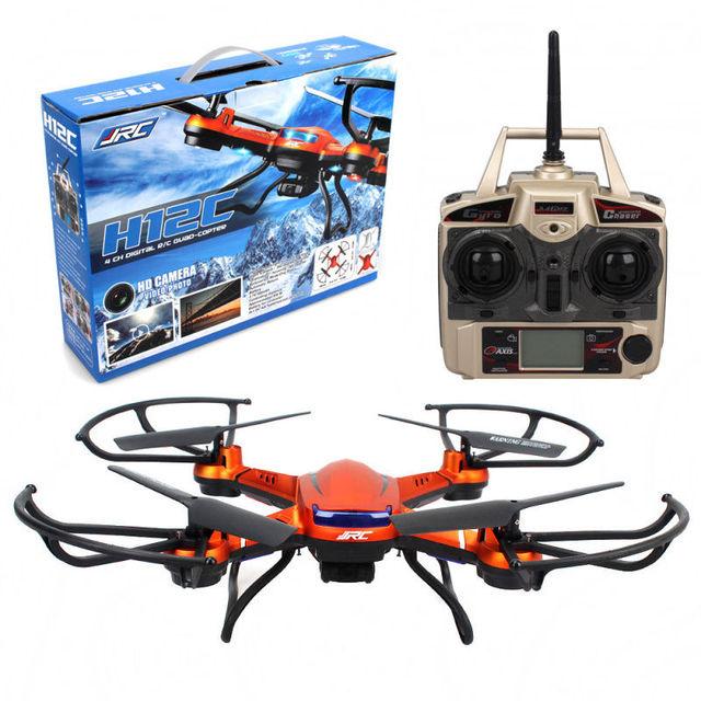 El Envío Gratuito! Original JJRC H12C 24CH Toy Drone Quadcopter Cámara de 5MP + Más 1 Batería + 2 Motores
