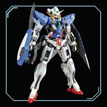 DRAGON_MOMOKO モデル 1/100 MG Mb のバージョン 4 で 1 こと天使 R2 エクシア R3 戦闘ダメージバージョンガンフィギュア