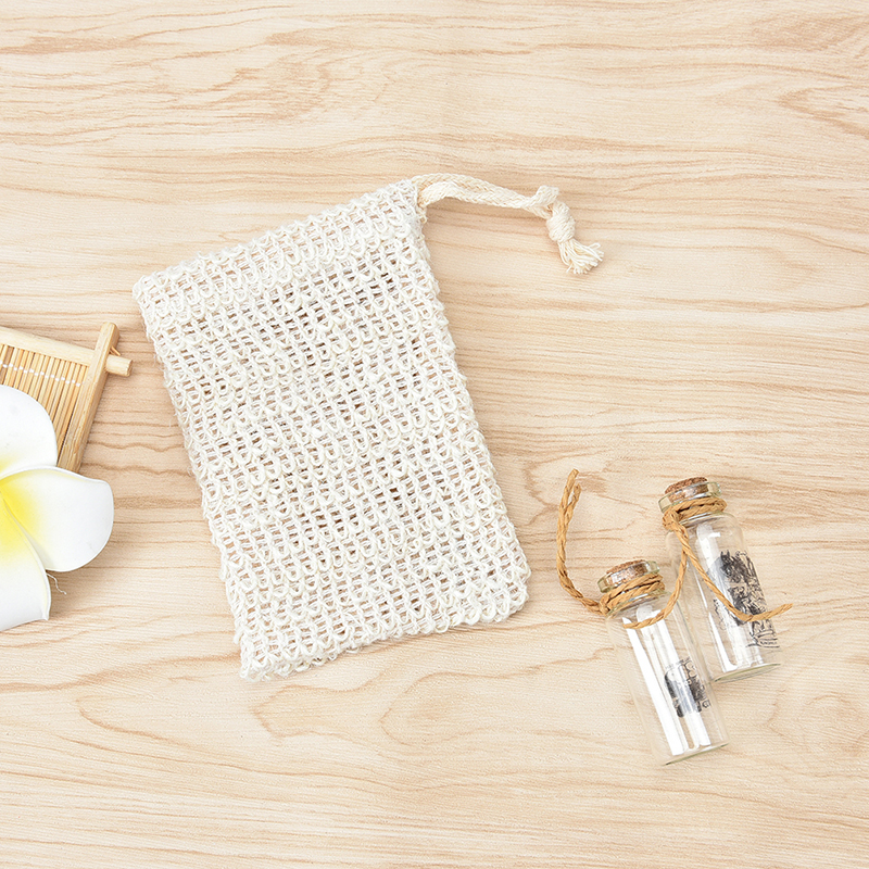 Liquid Soap Dispensers Special Section Hot 6 Pcs Natural Exfoliating Soap Bags Handmade Sisal Soap Bags Natural Sisal Soap Saver Pouch Holder Bath Soap Holder Bags Big Clearance Sale Home Improvement