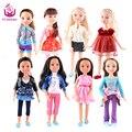 """Мода Куклы 8 Различных Моделей 18 """"45 см Принцесса Девушка Кукла Совместное Тела Реалистичные Игрушки Подарок На День Рождения, Как Американские Sweet Girl DIY"""