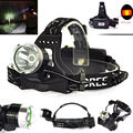 2000lm Waterproof CREE XM-L T6 3 Modes Brightness LED 18650 Headlamp Headlight Head Lamp Light for Outdoor Sport