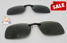 New Cool mini clip on myopia glasses Polarized Clip On Sunglasses UV400 Day Night Vision Driving Glasses For Men Women