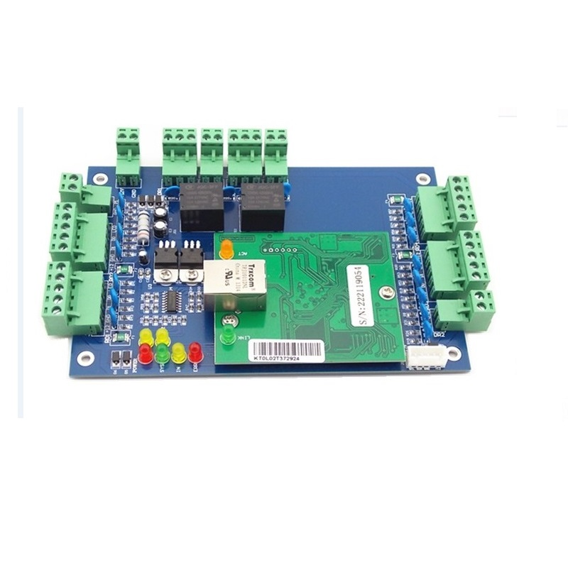 Web.2002 Built-in IE Browser 2 Doors TCP/IP Rfid Access Control Board with PC Software and Mobile APP