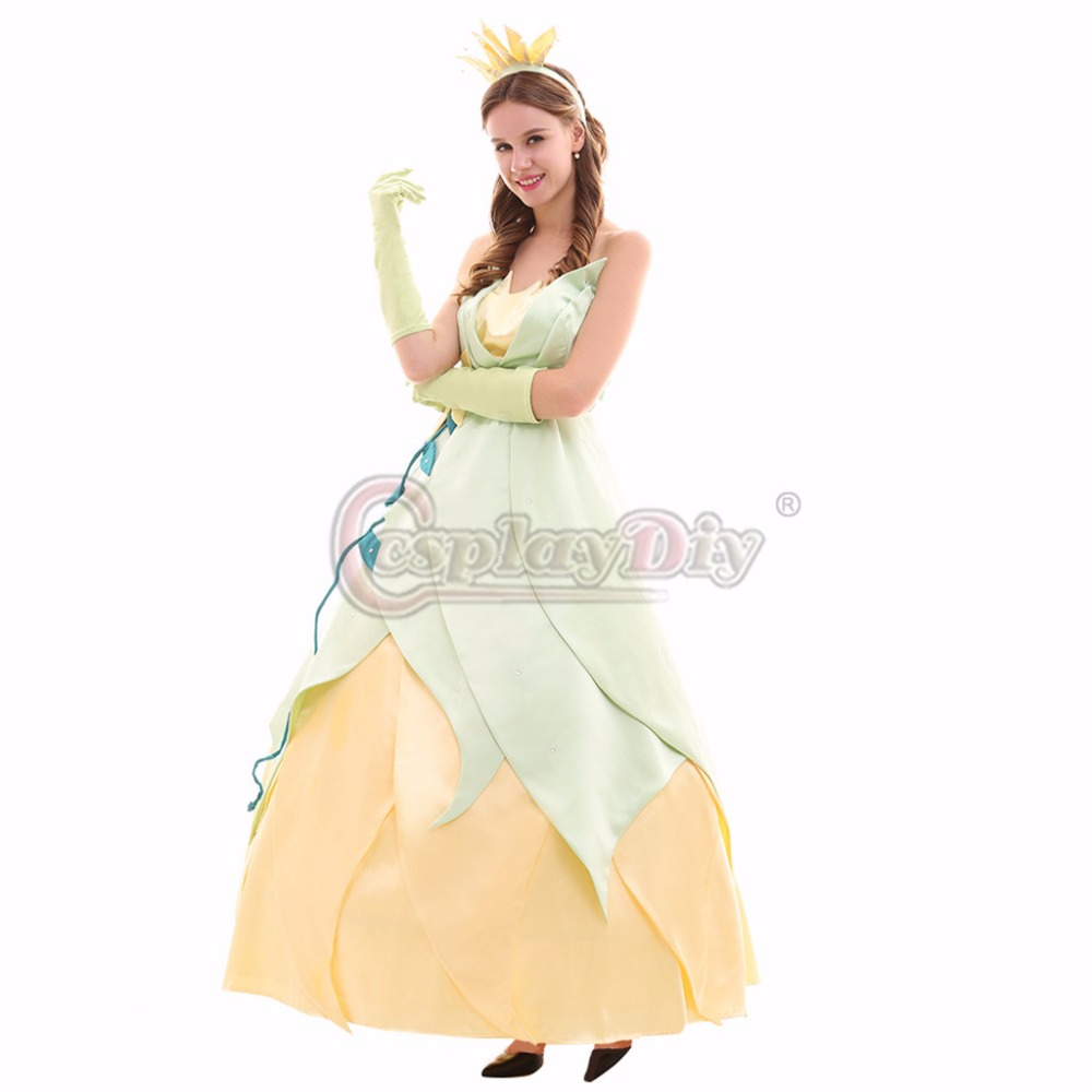 Cosplaydiy Custom Made Tiana Princess Dress The And Frog Wedding Costume In Movie TV Costumes From Novelty Special Use On