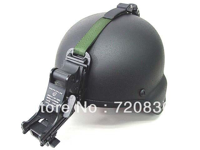 NVG PVS-7 14 Night Vision Goggle Mount Kit For MICH Helmet BK