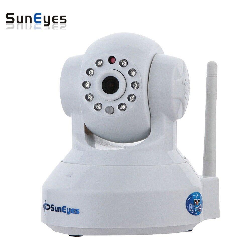SunEyes SP-TM01EWP 720 P/1080 P HD Mégapixels P2P Sans Fil Caméra IP Pan/Tilt avec deux voies audio TF Micro SD Fente Pour Carte Livraison APP