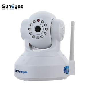 SunEyes SP-TM01EWP 720P/1080P HD Megapixel P2P Wireless IP Camera Pan/Tilt with two way audio TF Micro SD Card Slot Free APP