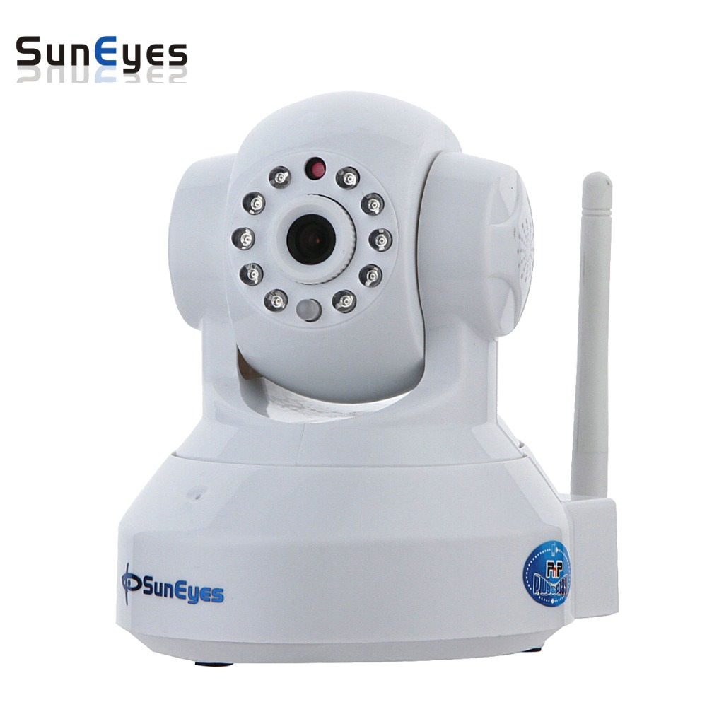 SunEyes SP-TM01EWP 720P HD Megapixel P2P Wireless IP Camera Pan/Tilt with two way audio TF Micro SD Card Slot  Free APP wireless ip camera hd 720p megapixel wifi camera home security cameras support tf sd card indoor two audio pan tilt p2p ip cam