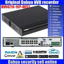 Original Dahua English version DH-NVR4216-16P-4KS2/DH-NVR4232-16P-4KS2 16/32 Channel  16PoE 4K H.265 Network Video Recorder