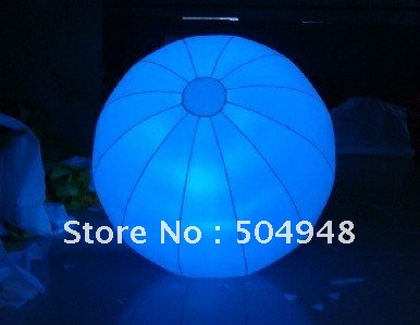 Inflatable party decoration inflatable ball with led light цена