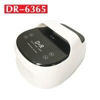 Светодиодный УФ Li Батарея ногтей Лампа 48 W Двойной лампа для сушки ногтей для лечения всех гели с Сенсор лампа для маникюра таймер с 15/30/45/60 s